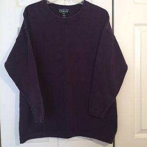 Patagonia Lavender 100% Organic  Sweatshirt Sz  L